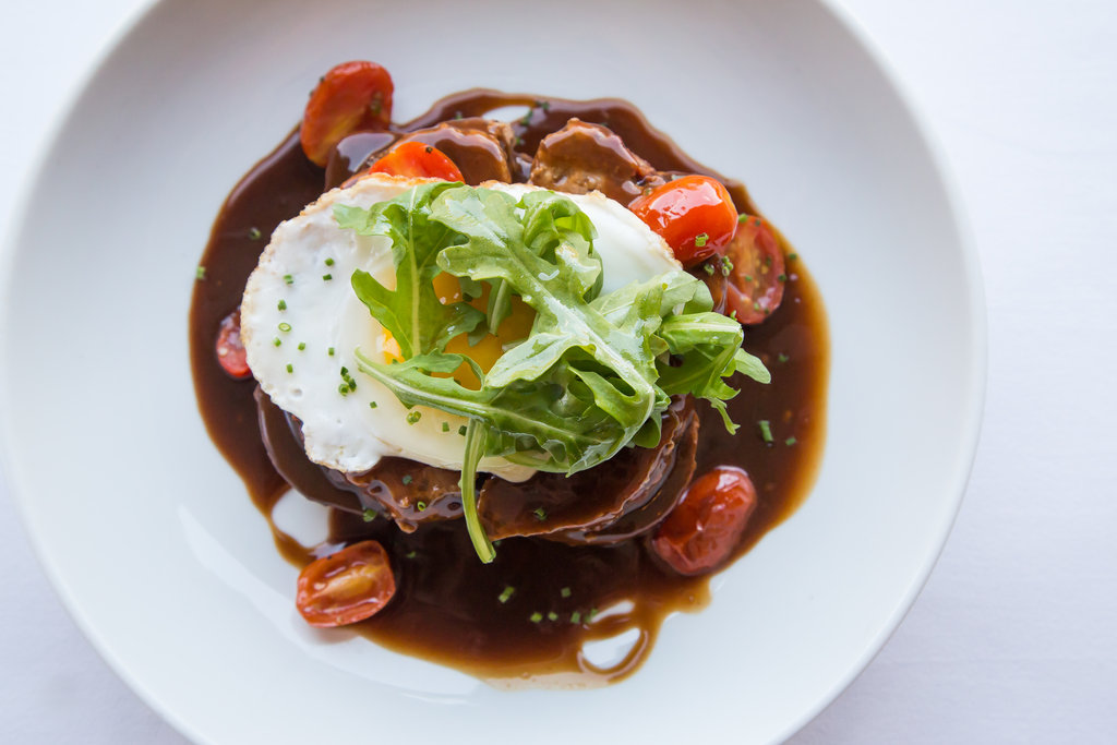 Crowne Plaza Old Town Alexandria-Open Faced Meatloaf Sandwich<br/>Image from Leonardo