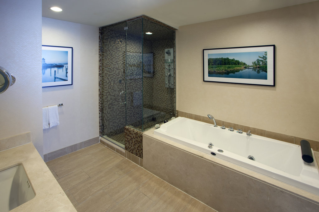 Crowne Plaza Old Town Alexandria-Presidential Suite With Luxury Bathroom With Jacuzzi<br/>Image from Leonardo