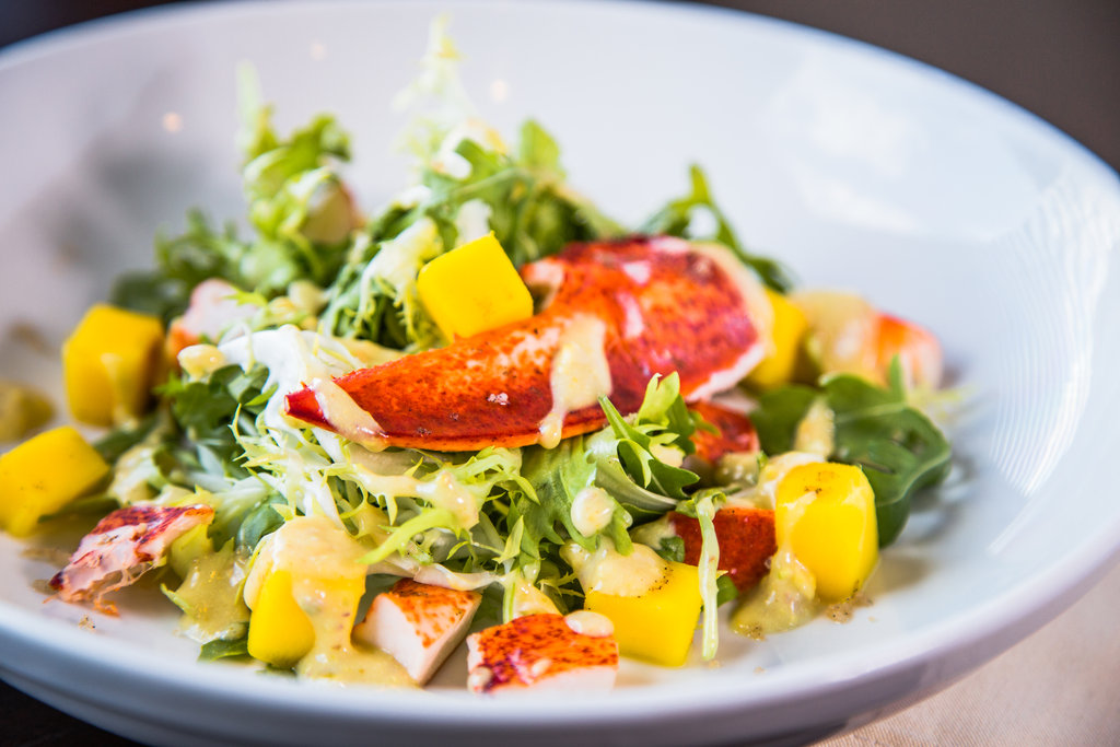 Crowne Plaza Old Town Alexandria-Lobster and Mango Salad<br/>Image from Leonardo