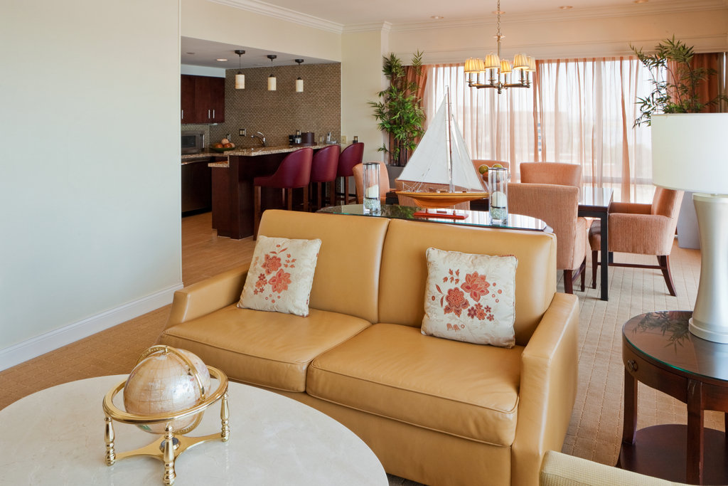Crowne Plaza Old Town Alexandria-Presidential Suite With Large Hospitality Area<br/>Image from Leonardo