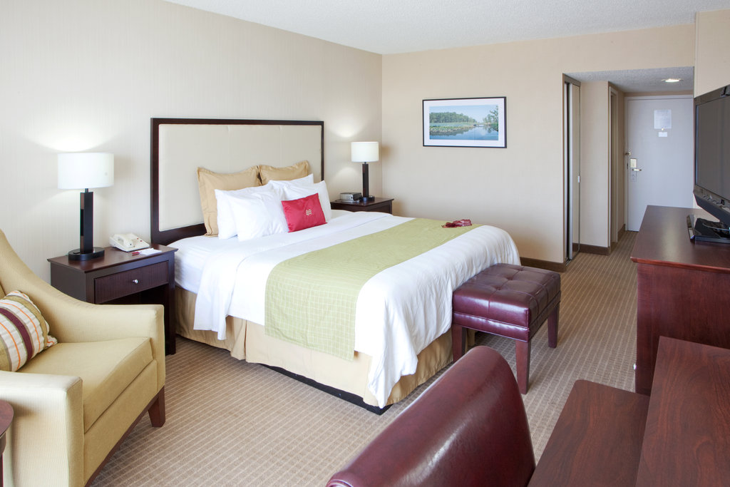 Crowne Plaza Old Town Alexandria-King Bed Guest Room....Style & Comfort<br/>Image from Leonardo