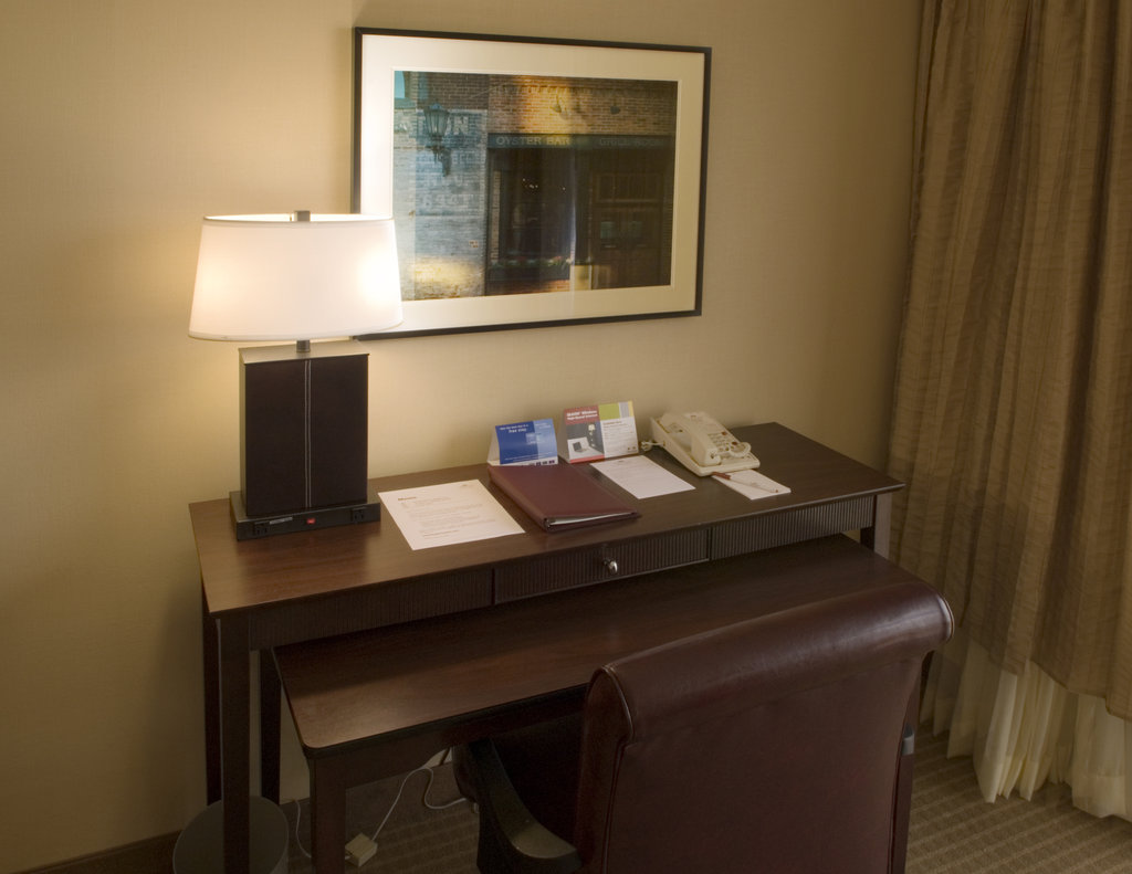Crowne Plaza Old Town Alexandria-Desk With Ergonomic Chair in Each Room<br/>Image from Leonardo