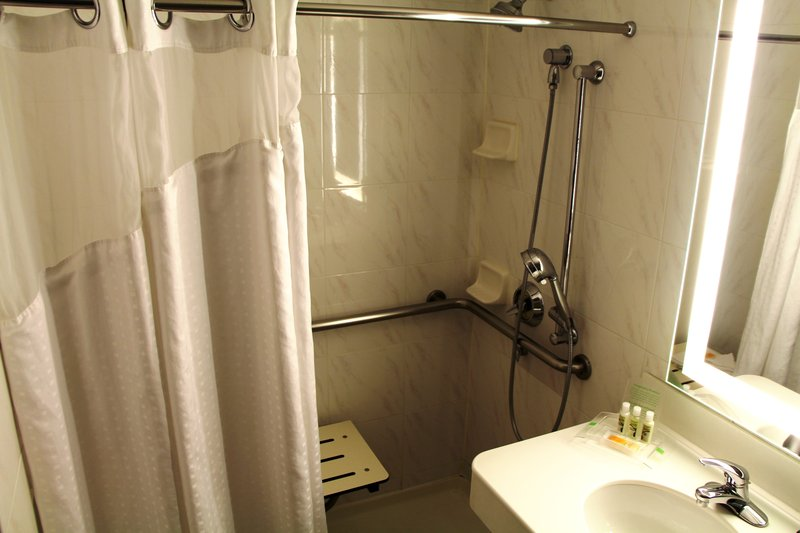 Holiday Inn Buena Park-Near Knott's-Bathroom - King Mobility Accessible with Roll-In Shower<br/>Image from Leonardo