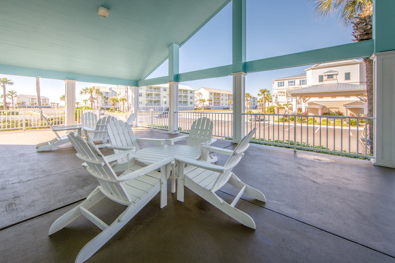 Holiday Inn Club Vacations Galveston Beach Resort-Relax on the patio <br/>Image from Leonardo