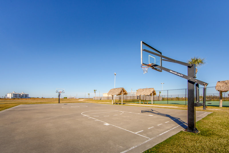 Holiday Inn Club Vacations Galveston Beach Resort-Enjoy a game of basketball with family and friends <br/>Image from Leonardo
