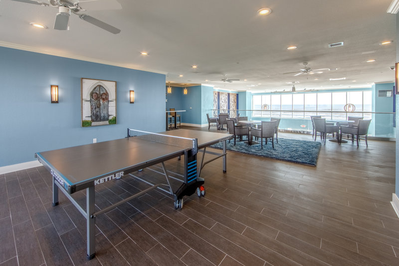 Holiday Inn Club Vacations Galveston Beach Resort-Play table tennis in the Signature Collection lounge <br/>Image from Leonardo