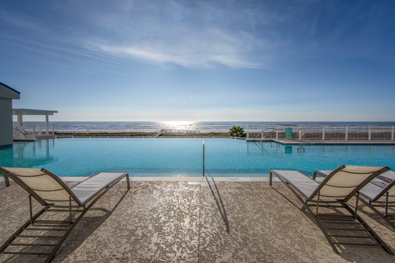 Holiday Inn Club Vacations Galveston Beach Resort-Ocean view from the Signature Collection pool <br/>Image from Leonardo