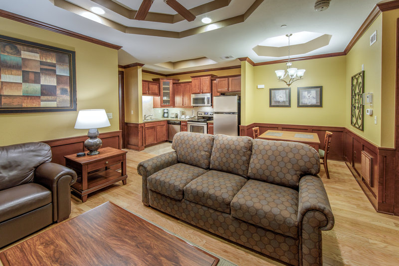Holiday Inn Club Vacations Galveston Beach Resort-Feel at home in this spacious living room <br/>Image from Leonardo