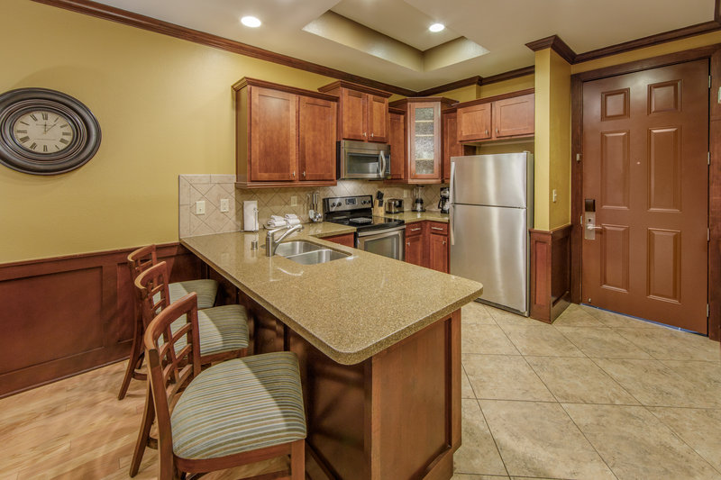 Holiday Inn Club Vacations Galveston Beach Resort-prepare a meal in the fully equipped kitchen <br/>Image from Leonardo