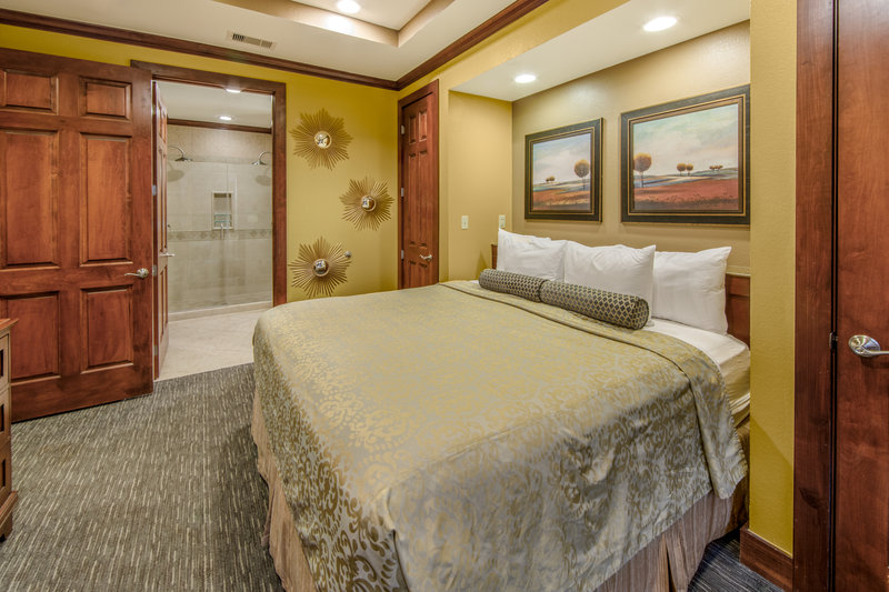 Holiday Inn Club Vacations Galveston Beach Resort-Rest and relax in a king sized bed <br/>Image from Leonardo