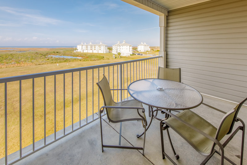 Holiday Inn Club Vacations Galveston Beach Resort-View from the balcony <br/>Image from Leonardo