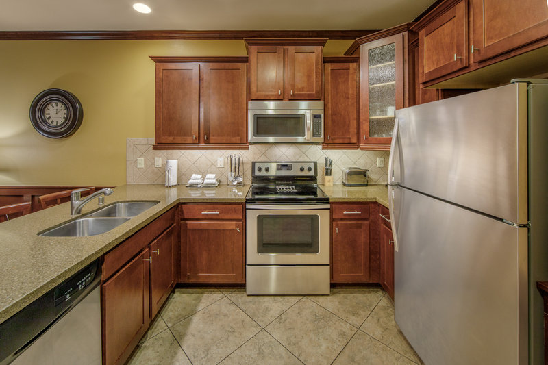Holiday Inn Club Vacations Galveston Beach Resort-Fully equipped kitchen makes preparing meals easy <br/>Image from Leonardo