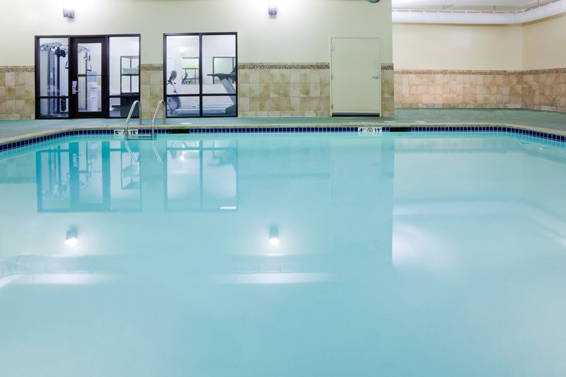 Holiday Inn Express Cedar Rapids (Collins Rd)-Indoor Heated Swimming Pool available year round.<br/>Image from Leonardo