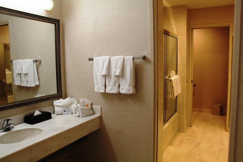 Holiday Inn Buena Park-Near Knott's-Bathroom - One King Suite 5th Floor<br/>Image from Leonardo