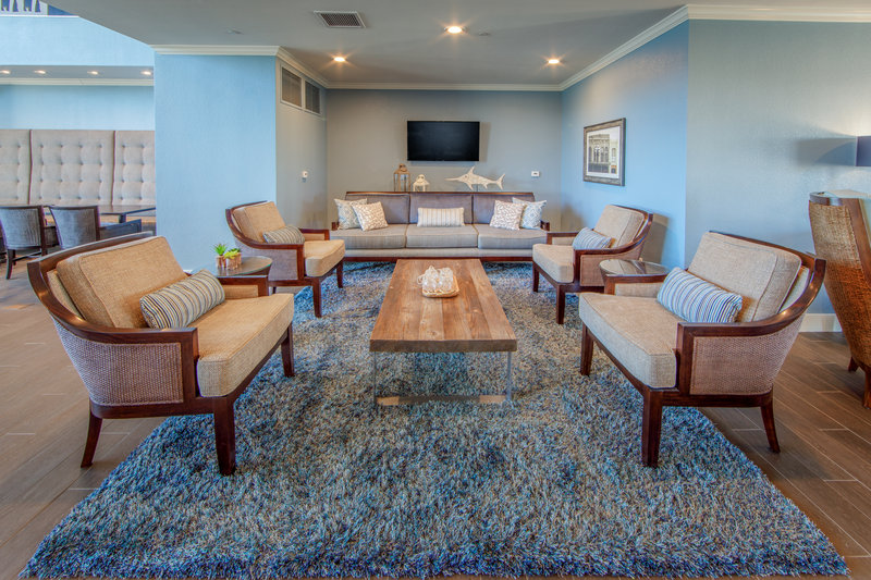 Holiday Inn Club Vacations Galveston Beach Resort-Relax in the Signature Collection lounge <br/>Image from Leonardo