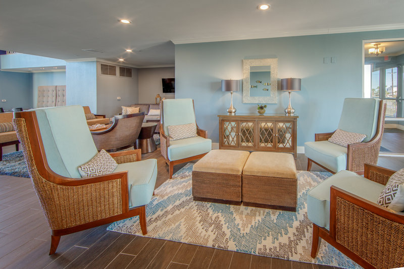Holiday Inn Club Vacations Galveston Beach Resort-Signature Collection Lounge <br/>Image from Leonardo
