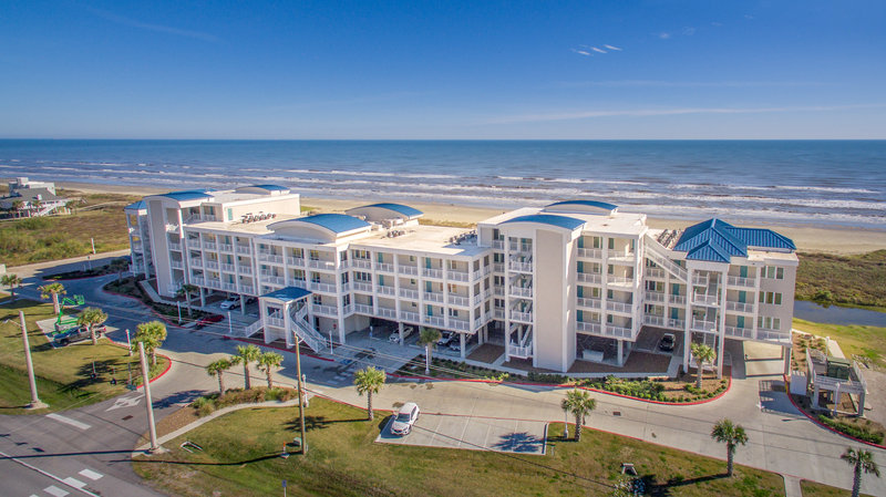 Holiday Inn Club Vacations Galveston Beach Resort-Bird's eye view of Signature Collection<br/>Image from Leonardo
