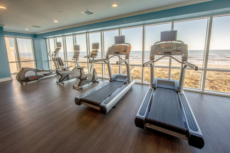 Holiday Inn Club Vacations Galveston Beach Resort-Have a run with a view at the Signature Collection fitness center<br/>Image from Leonardo
