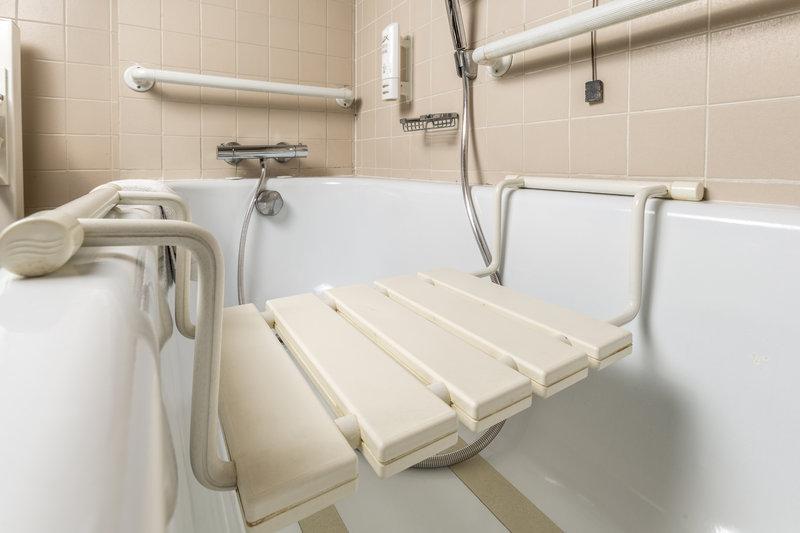 Holiday Inn Naples-Wheelchair accessible bathroom<br/>Image from Leonardo