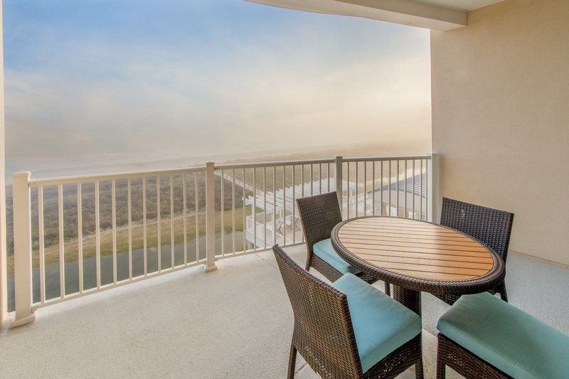 Holiday Inn Club Vacations Galveston Beach Resort-View from the Signature Collection balcony <br/>Image from Leonardo