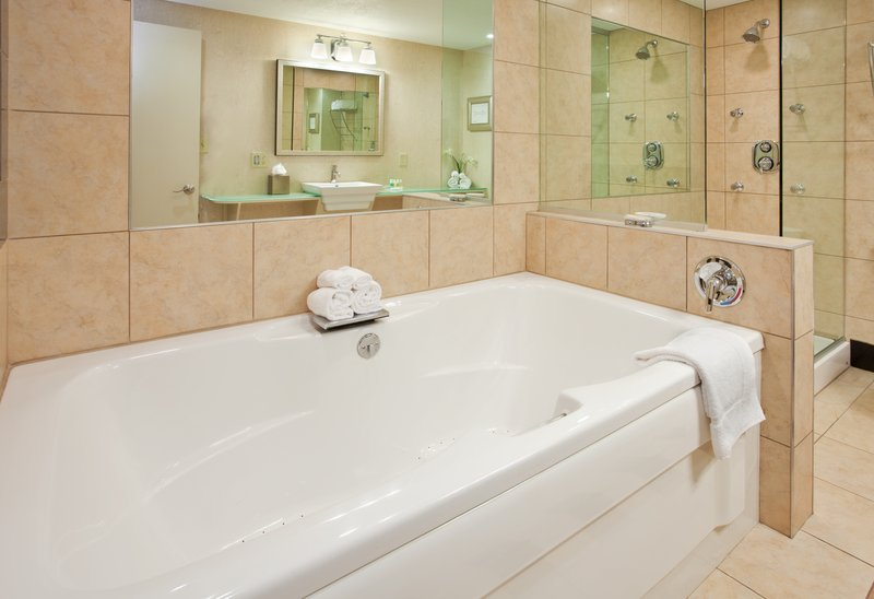 Holiday Inn Manhattan At The Campus-Jacuzzi Tubs Available in All King Suites<br/>Image from Leonardo