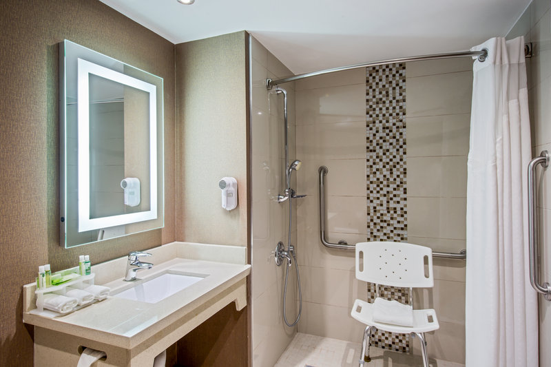 Holiday Inn Express & Suites Regina-Guest Bathroom<br/>Image from Leonardo