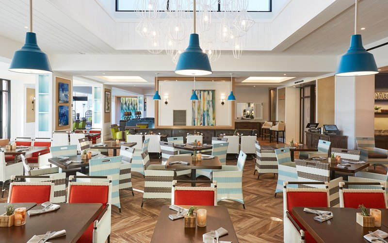 The Waterfront Beach Resort, A Hilton Hotel-Boardwalk Three Meal Restaurant<br/>Image from Leonardo