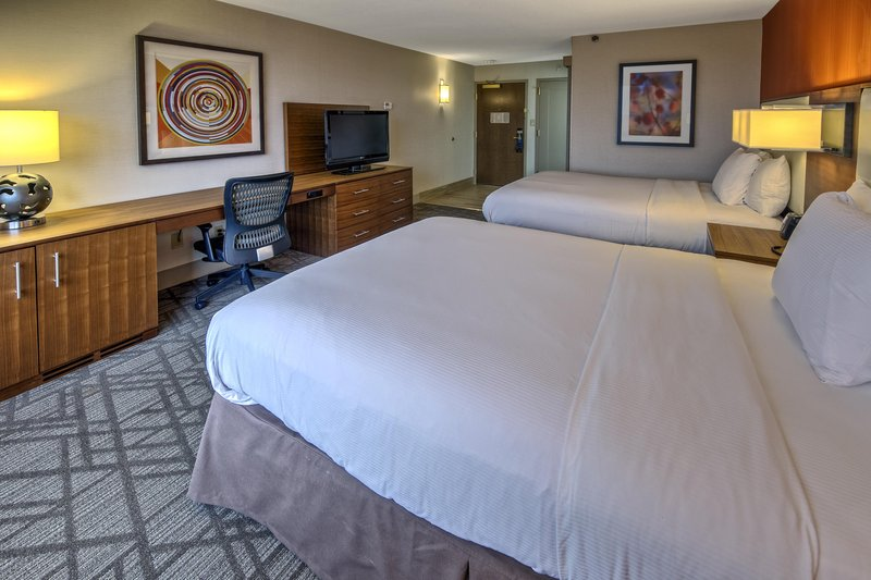 Hilton Knoxville Airport, TN-Standard Double Bedroom<br/>Image from Leonardo