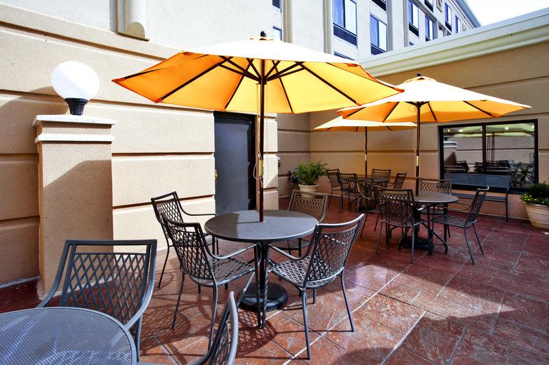 Holiday Inn Ann Arbor Univ Michigan Area-Guest Patio<br/>Image from Leonardo