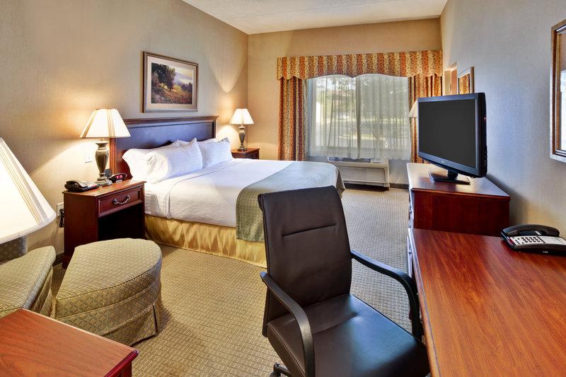 Holiday Inn Ann Arbor Univ Michigan Area-King Guest Room<br/>Image from Leonardo