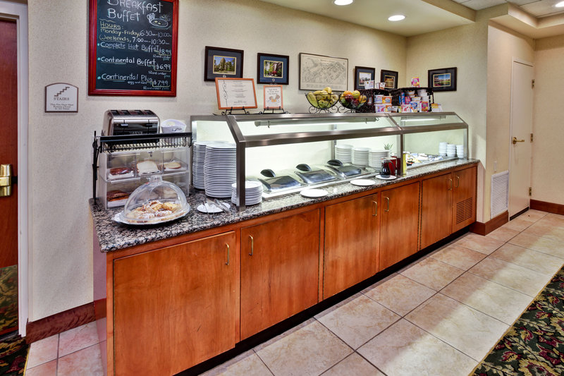 Holiday Inn Ann Arbor Univ Michigan Area-Breakfast Bar<br/>Image from Leonardo
