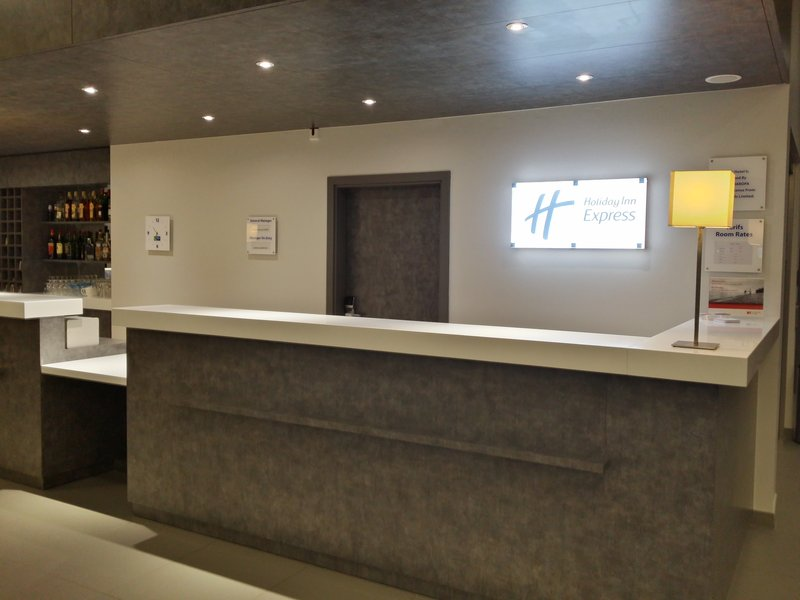 Holiday Inn Express Strasbourg - Centre-Front Desk<br/>Image from Leonardo