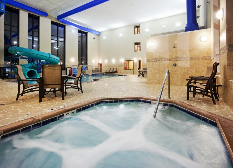 Holiday Inn Express & Suites Great Falls-Relaxing Hot Tub<br/>Image from Leonardo