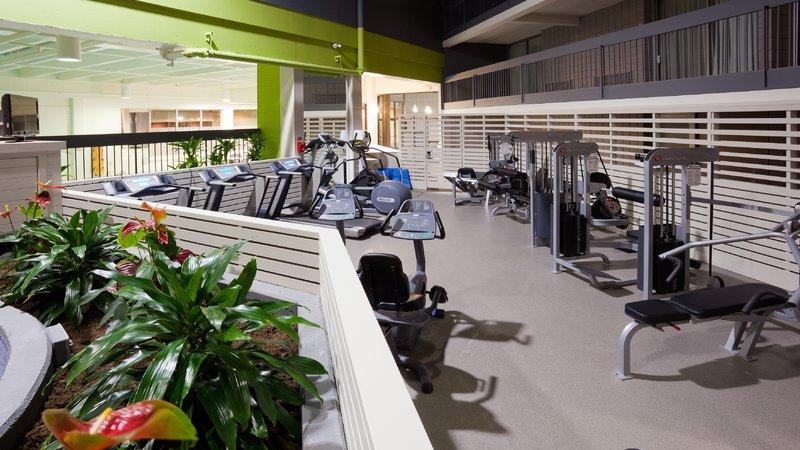 Holiday Inn Burlington - Hotel & Conf Centre-Fitness Center in our Atrium area <br/>Image from Leonardo