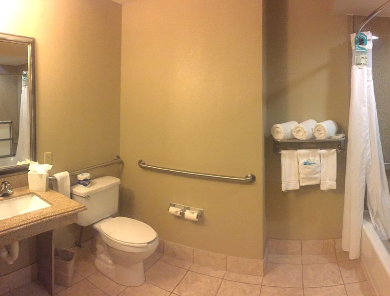Holiday Inn Express Crystal River-Guest Bathroom<br/>Image from Leonardo