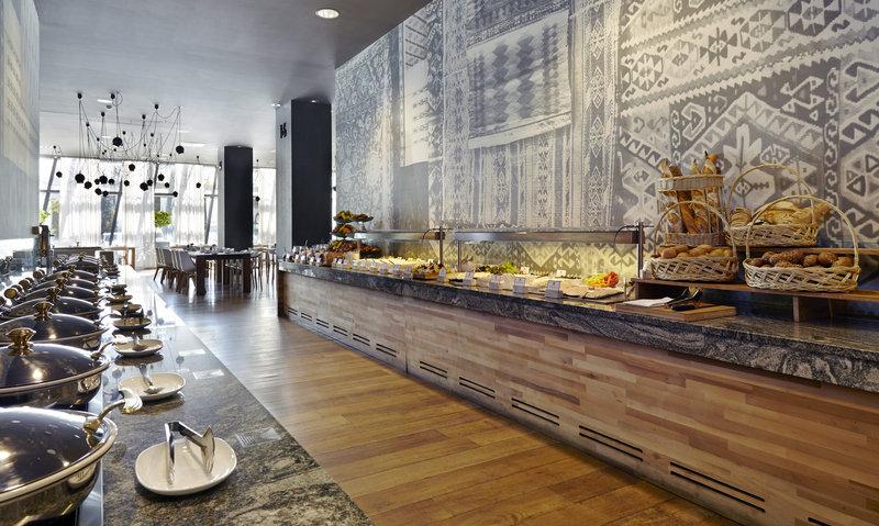 Holiday Inn Tbilisi-Breakfast Buffet.<br/>Image from Leonardo
