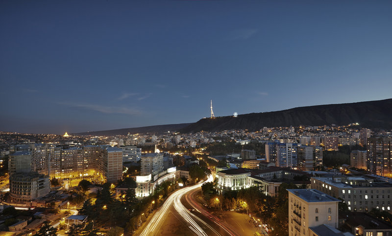Holiday Inn Tbilisi-Night View over Tbilisi<br/>Image from Leonardo