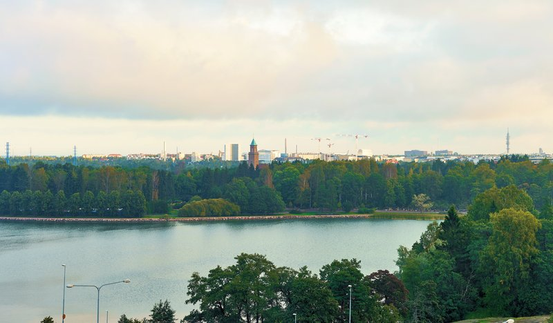 Holiday Inn Helsinki - West -Ruoholahti-You can enjoy a sea view from the top floors of our hotel<br/>Image from Leonardo