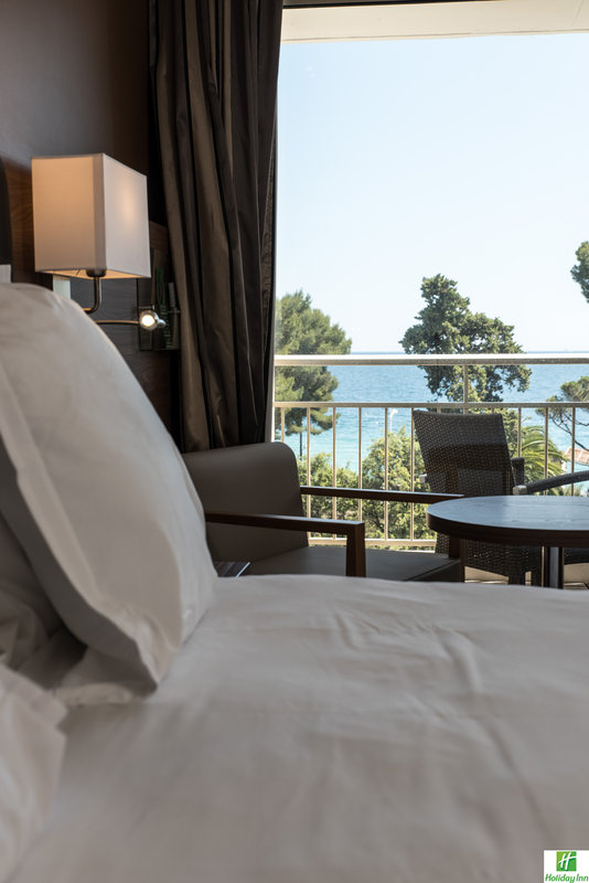 Holiday Inn Cannes-View from our Double Bed Guest Room<br/>Image from Leonardo