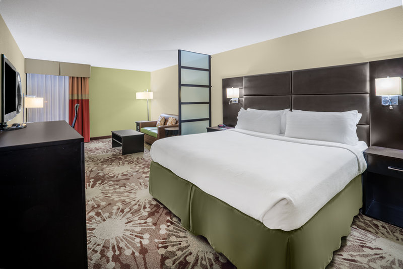 Holiday Inn Morgantown-Reading Area-Upgrade to King Executive room with sleeper sofa and work area<br/>Image from Leonardo