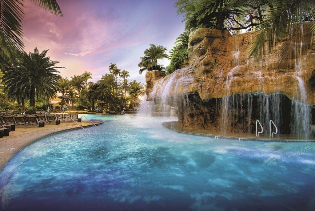 The Mirage Hotel and Casino - Mirage Pool Lagoon <br/>Image from Leonardo