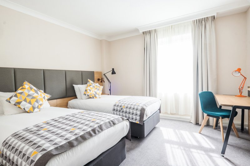 Holiday Inn Farnborough-Guest bedrom with two beds<br/>Image from Leonardo