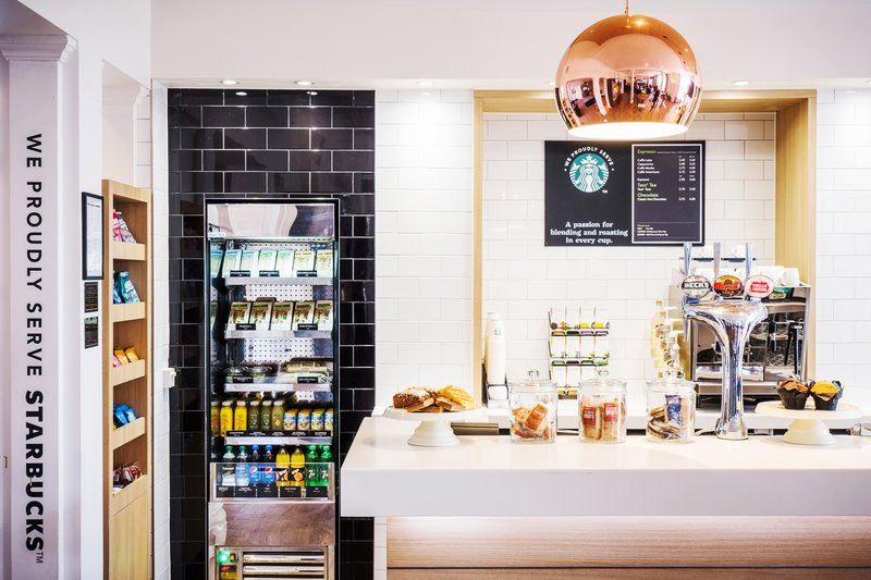 Holiday Inn Farnborough-Enjoy something to eat and drink in our bar and lounge<br/>Image from Leonardo