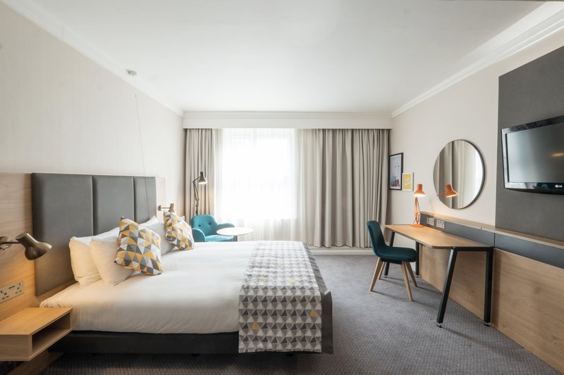Holiday Inn Farnborough-Enjoy a relaxing stay in our hotel room with a double bed<br/>Image from Leonardo