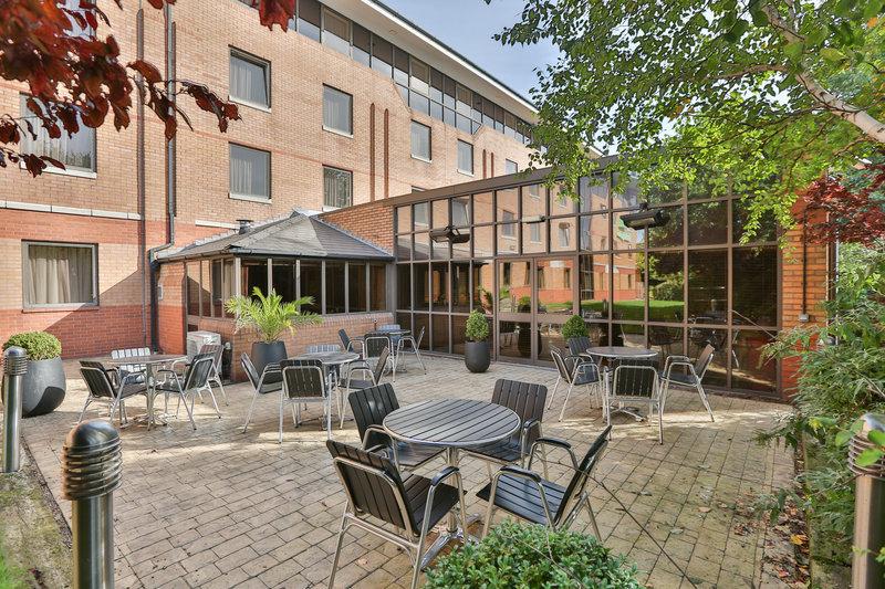 Holiday Inn Nottingham-Outdoor Terrace for Al Fresco Dining or Drinks<br/>Image from Leonardo