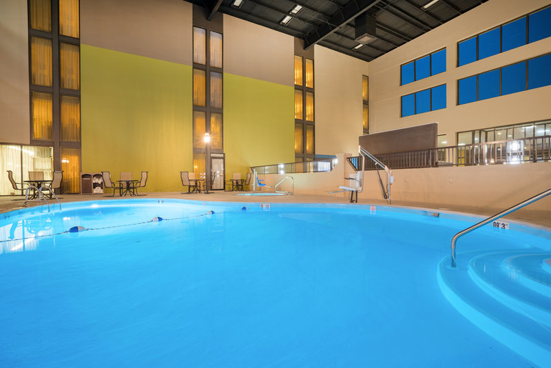 Holiday Inn Morgantown-Reading Area-Spacious Indoor Swimming Pool open year round<br/>Image from Leonardo