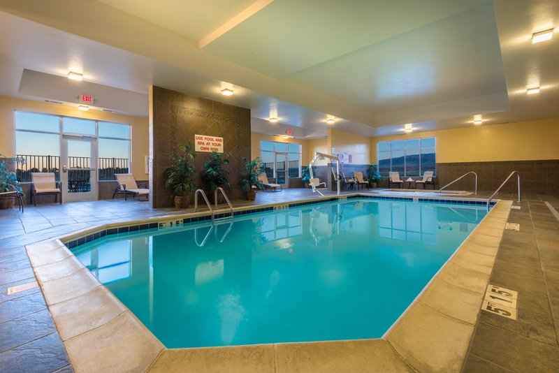 Holiday Inn Casper East - McMurry Park-Take a swim in our heated indoor pool!<br/>Image from Leonardo