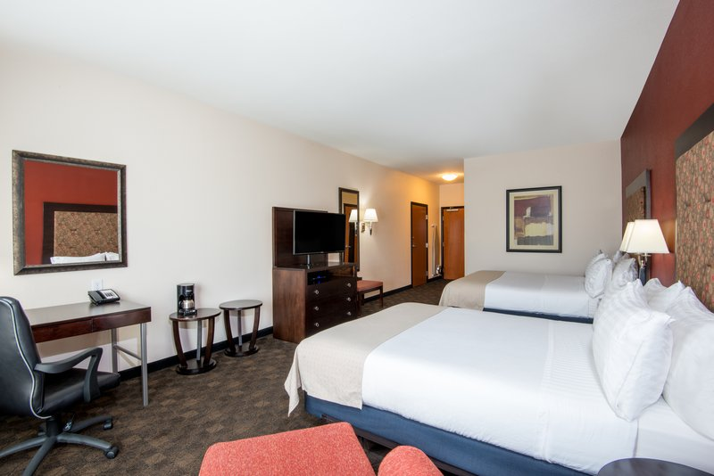 Holiday Inn Casper East - McMurry Park-Two Queens with microwave and refrigerator perfect for your family<br/>Image from Leonardo
