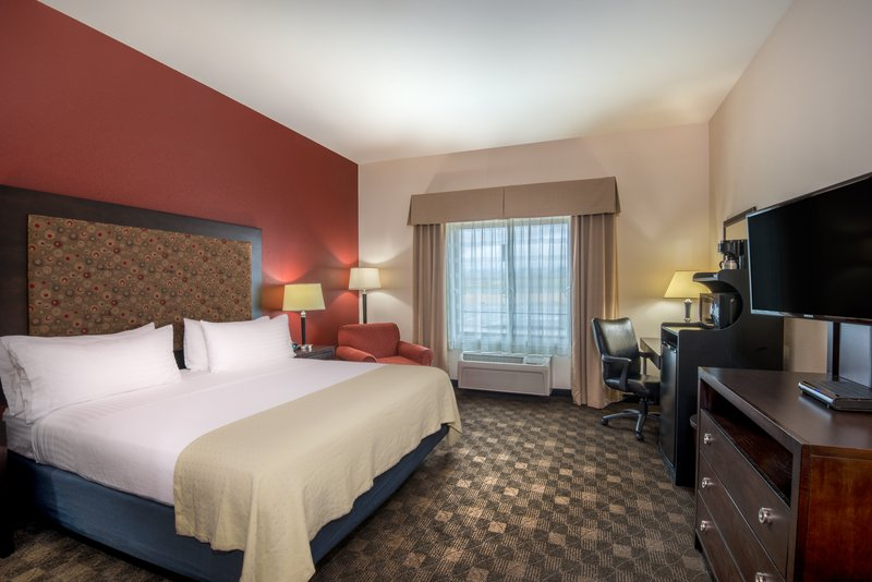 Holiday Inn Casper East - McMurry Park-ADA/Hearing accessible Guest Bathroom with roll-in shower<br/>Image from Leonardo