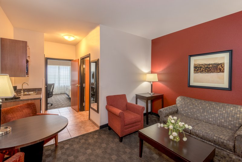 Holiday Inn Casper East - McMurry Park-King suites give you room to relax with a separate sitting area.<br/>Image from Leonardo